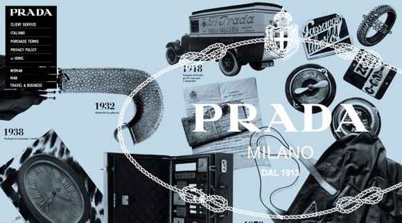 prada launches us e store Prada Launches U.S. E Store