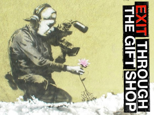Exit Through The Gift Shop, Banksy, Shepard Fairey, Invader